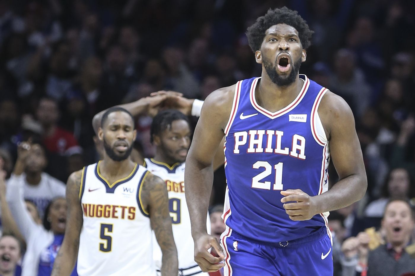 Sixers' Joel Embiid returns to practice, expected to play Wednesday against Miami Heat