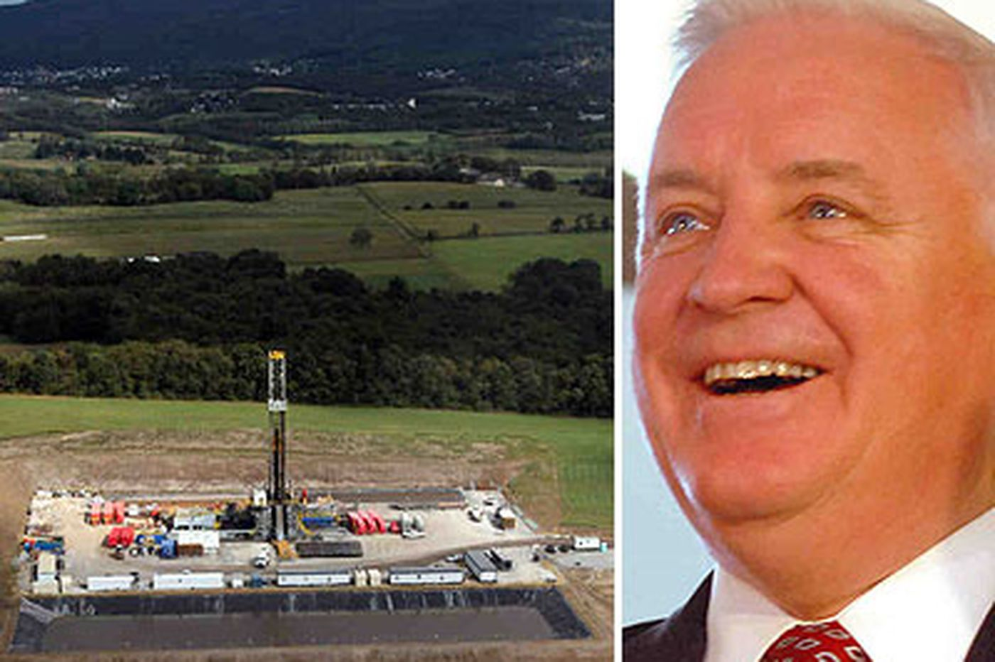Corbett maintains hard line on no Marcellus Shale tax