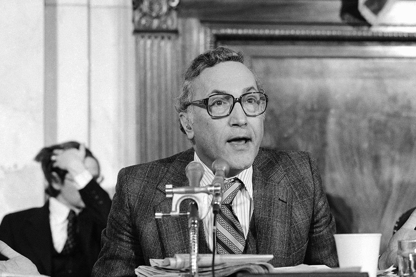 Former senator, cabinet secretary, Richard Schweiker, 89, dies