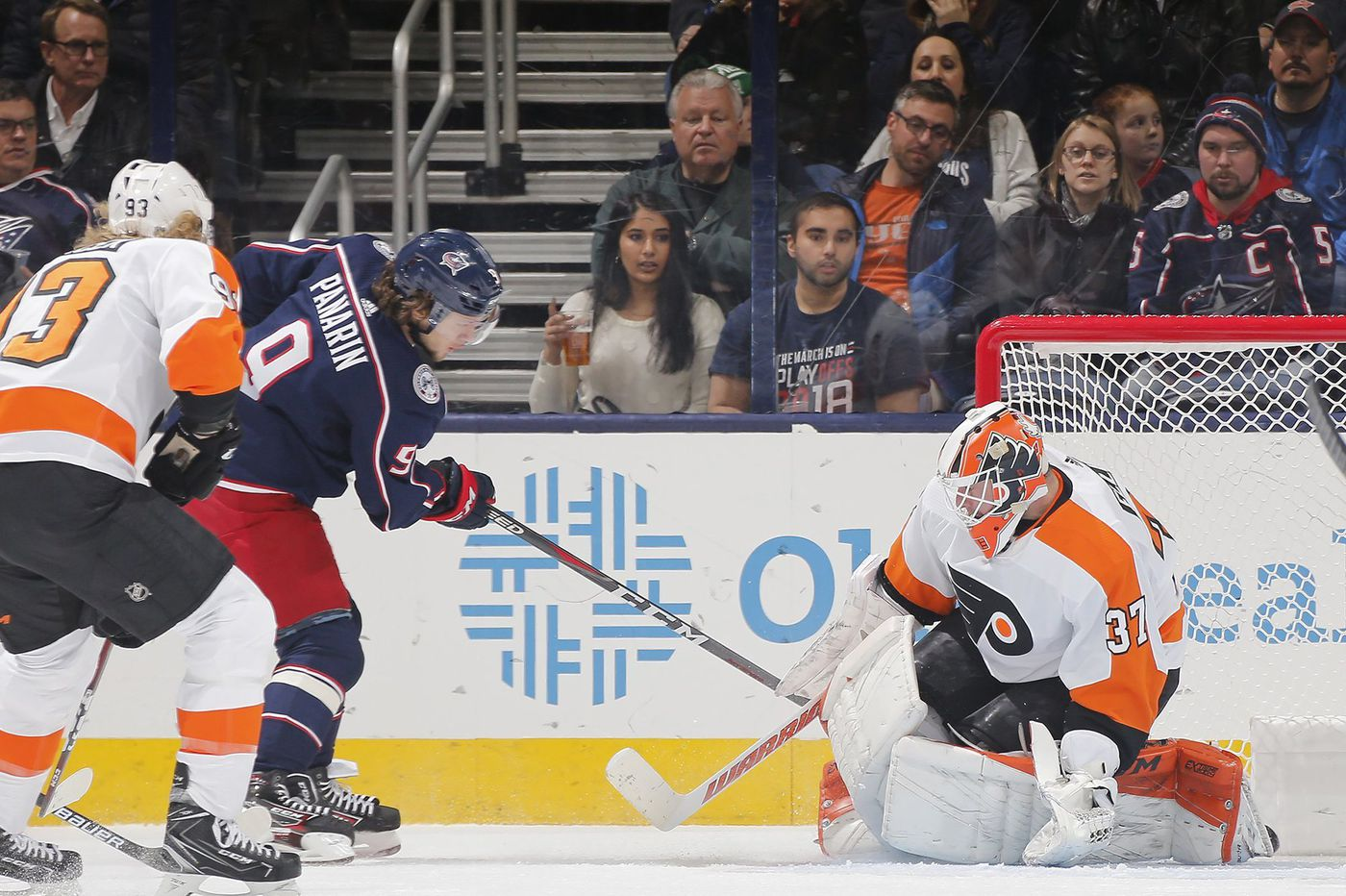 Flyers fall to Columbus Blue Jackets for fourth time this season