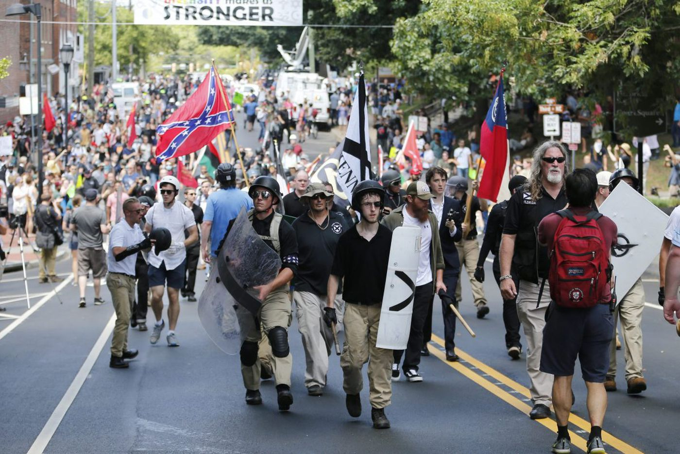 Organizer of Charlottesville right-wing rally gets approval for anniversary event in DC