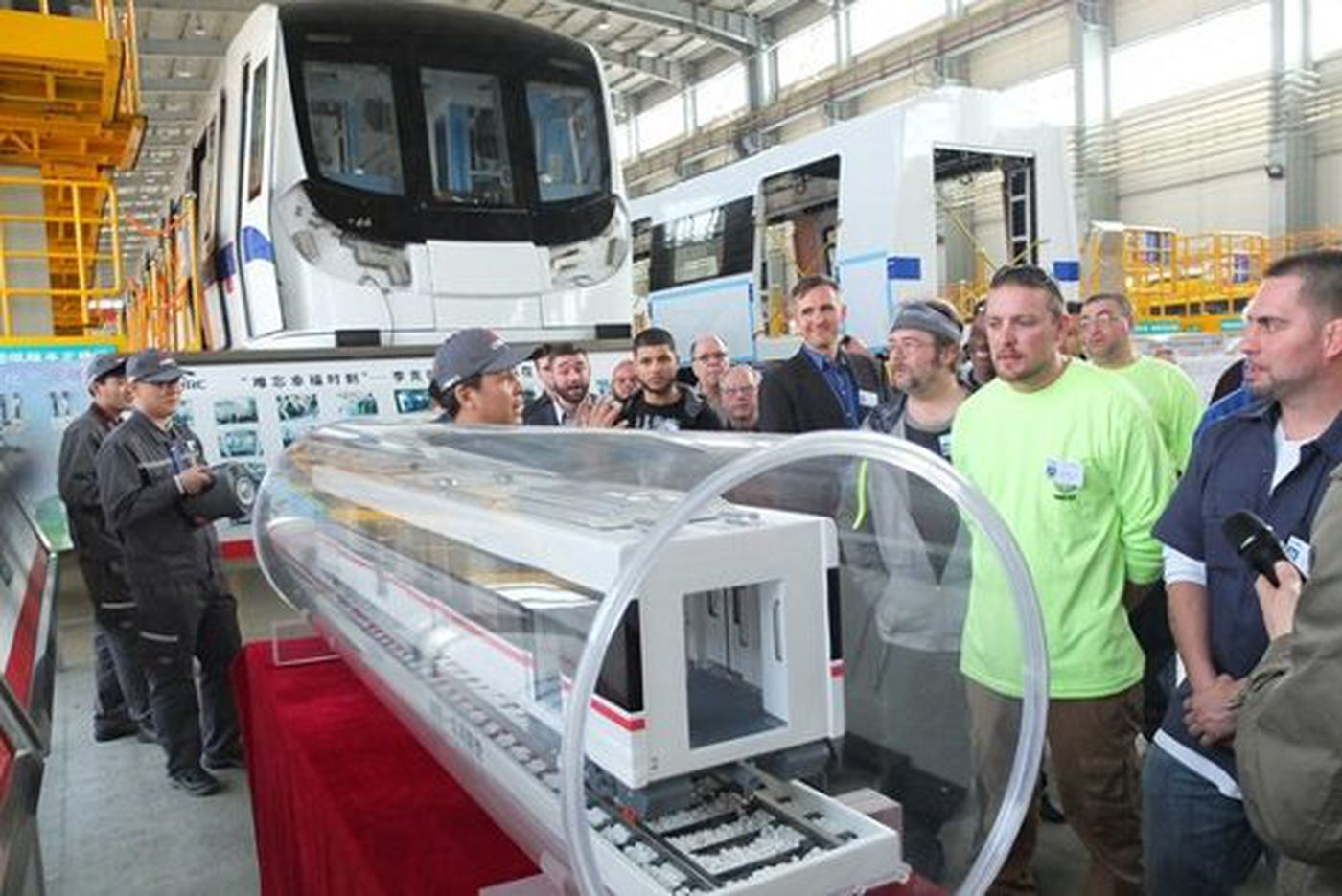 Philly railcar maker Hyundai Rotem gives up and leaves town