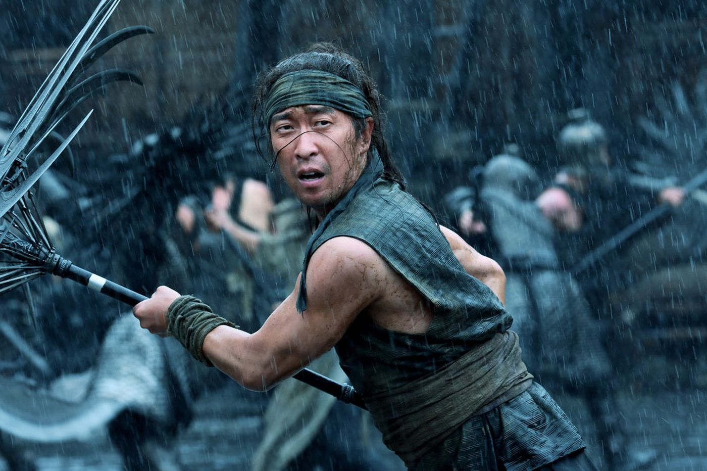 Slayin' in the rain: In Chinese battle epic 'Shadow,' violence is an umbrella term   Movie review