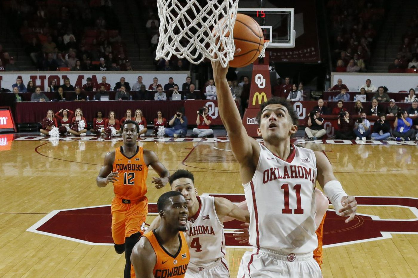 Oklahoma's Trae Young not performing like a freshman | College Basketball Topics