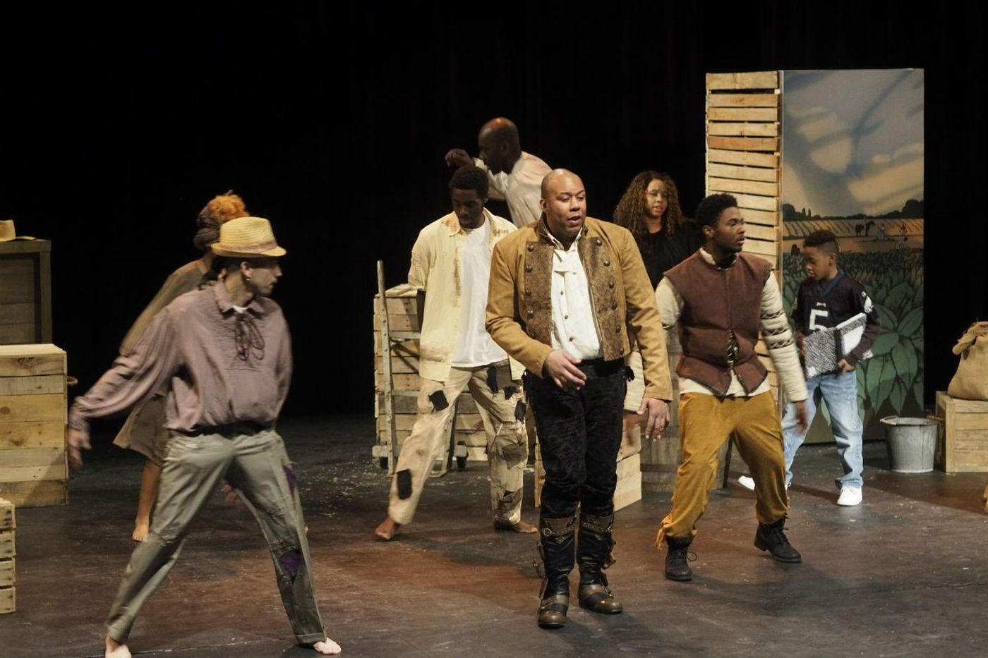 New black-history musical from Dice Raw shows off his many talents (but harmony isn't one)