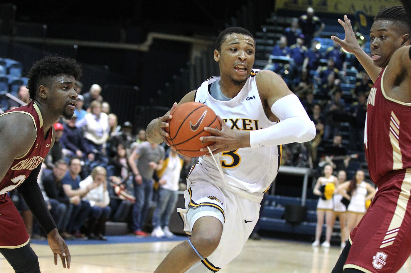 City 6 observations: Drexel's Troy Harper gets to the line; Charlie Brown goes off