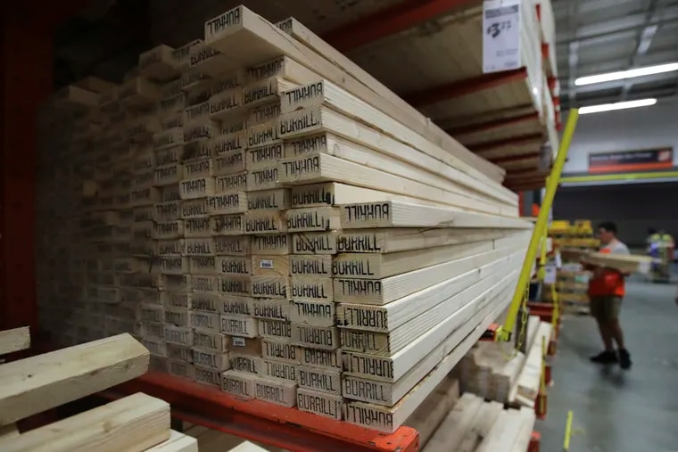 Lumber futures in Chicago reached a record $855.10 per 1,000 board feet on Tuesday, having surged more than 30% since Jan. 12. This price surge during what is typically a winter lull has surprised the industry, raising home-building costs and forcing many buyers to purchase only their immediate needs.