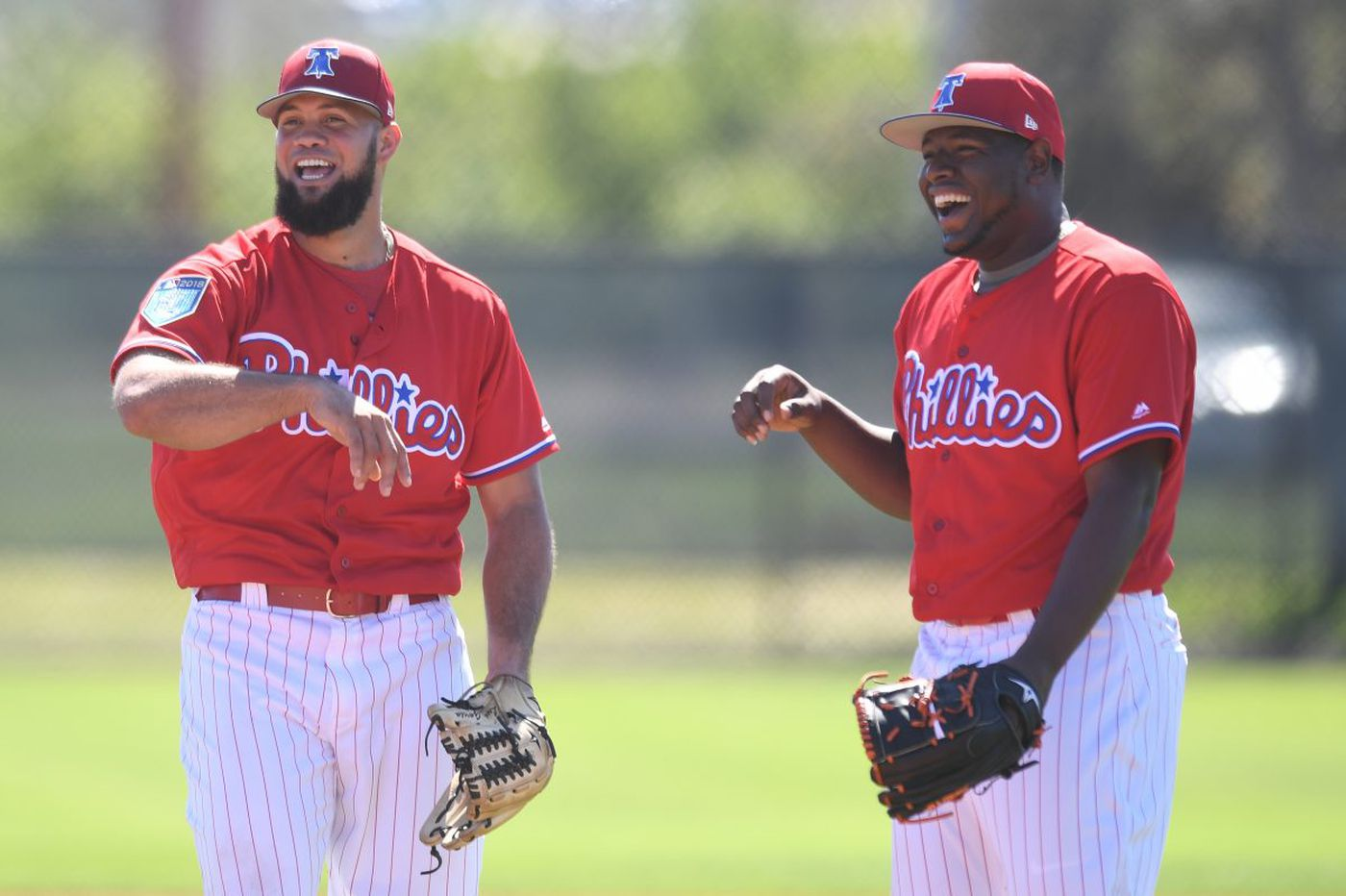 One pitch leads to three unlikely paths to Phillies' bullpen