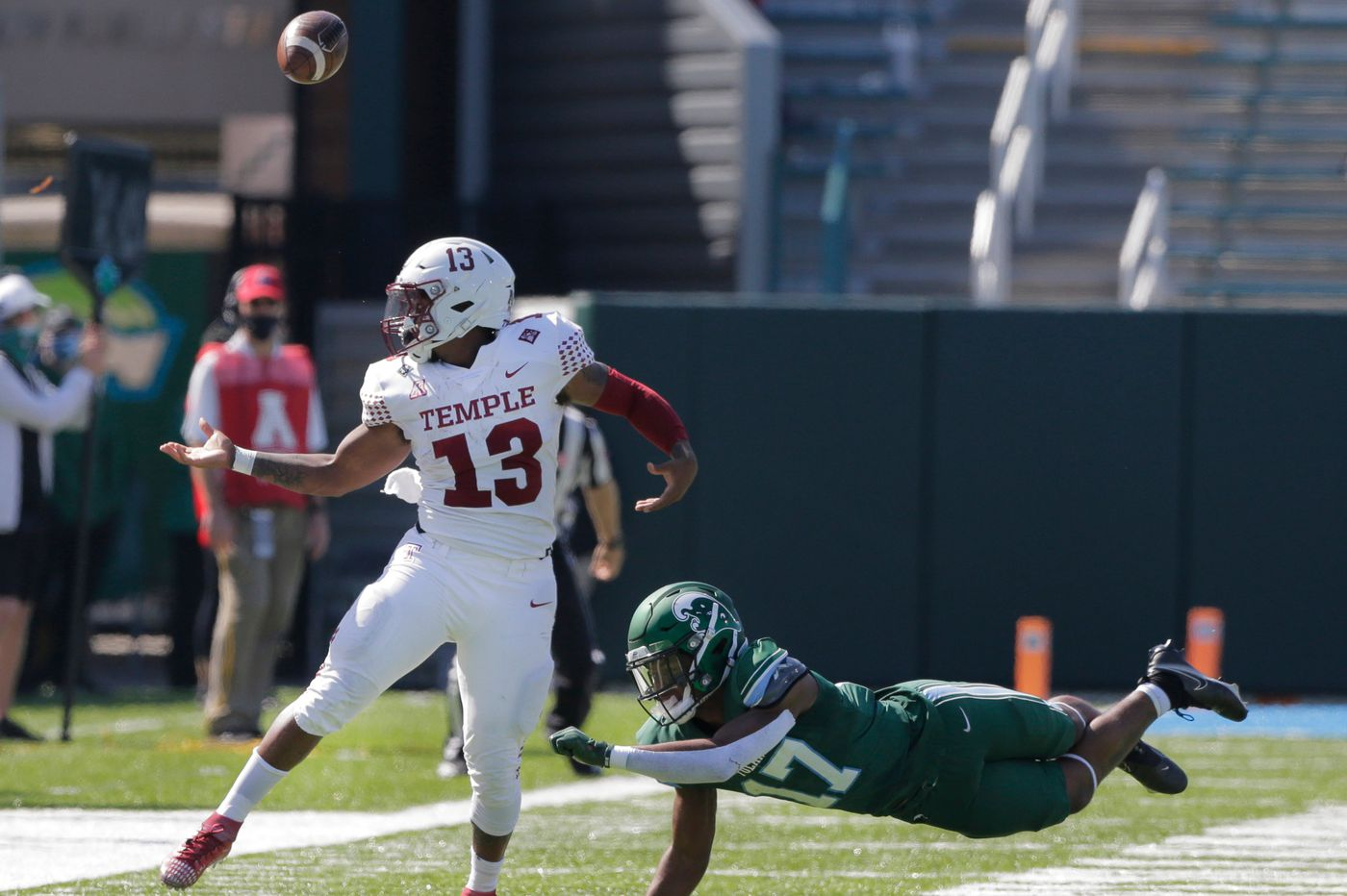 Temple routed, 38-3, as Tulane stages second-half explosion