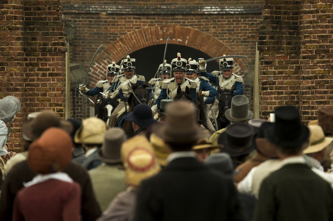Mike Leigh revisits a UK labor massacre in 'Peterloo' | Movie review