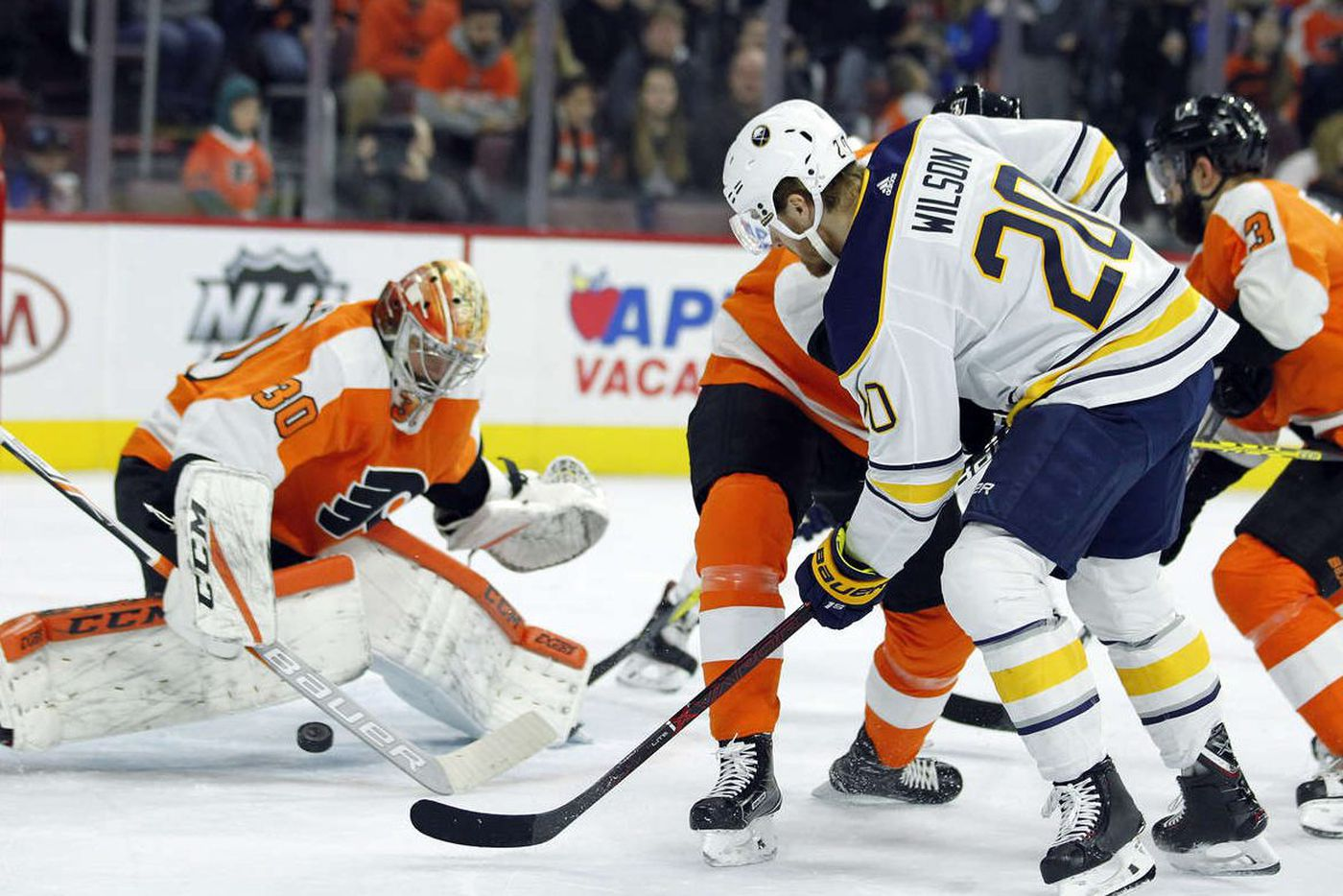 Flyers try to bounce back; Michal Neuvirth expected to get rare start