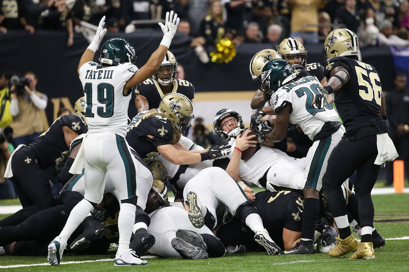 Doug Pederson trending down, Jordan Matthews trending up after Eagles' playoff loss to Saints