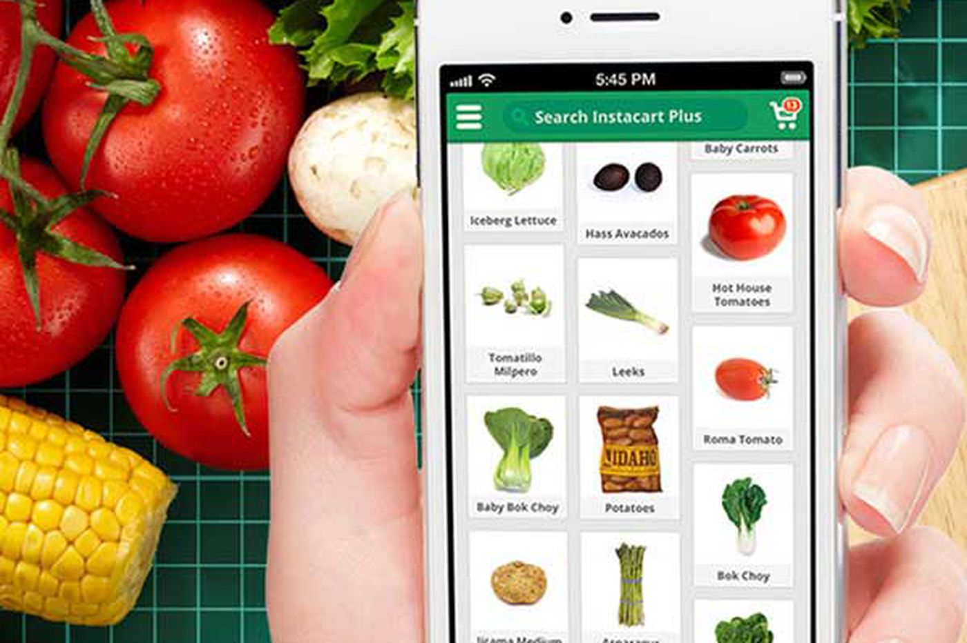 Personal food-shopper Instacart rolls in to city