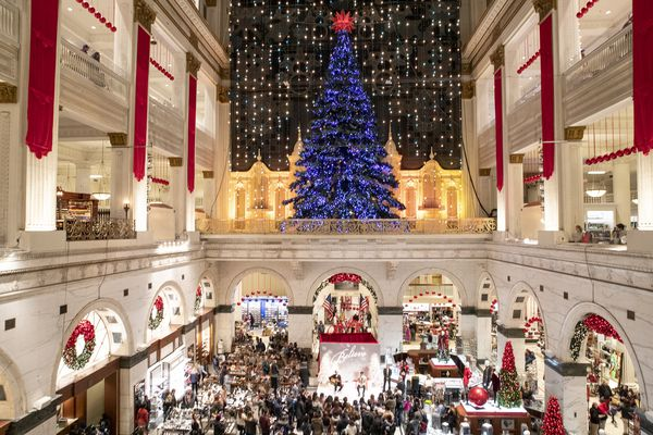 A timeline of Macy's Christmas Light Show