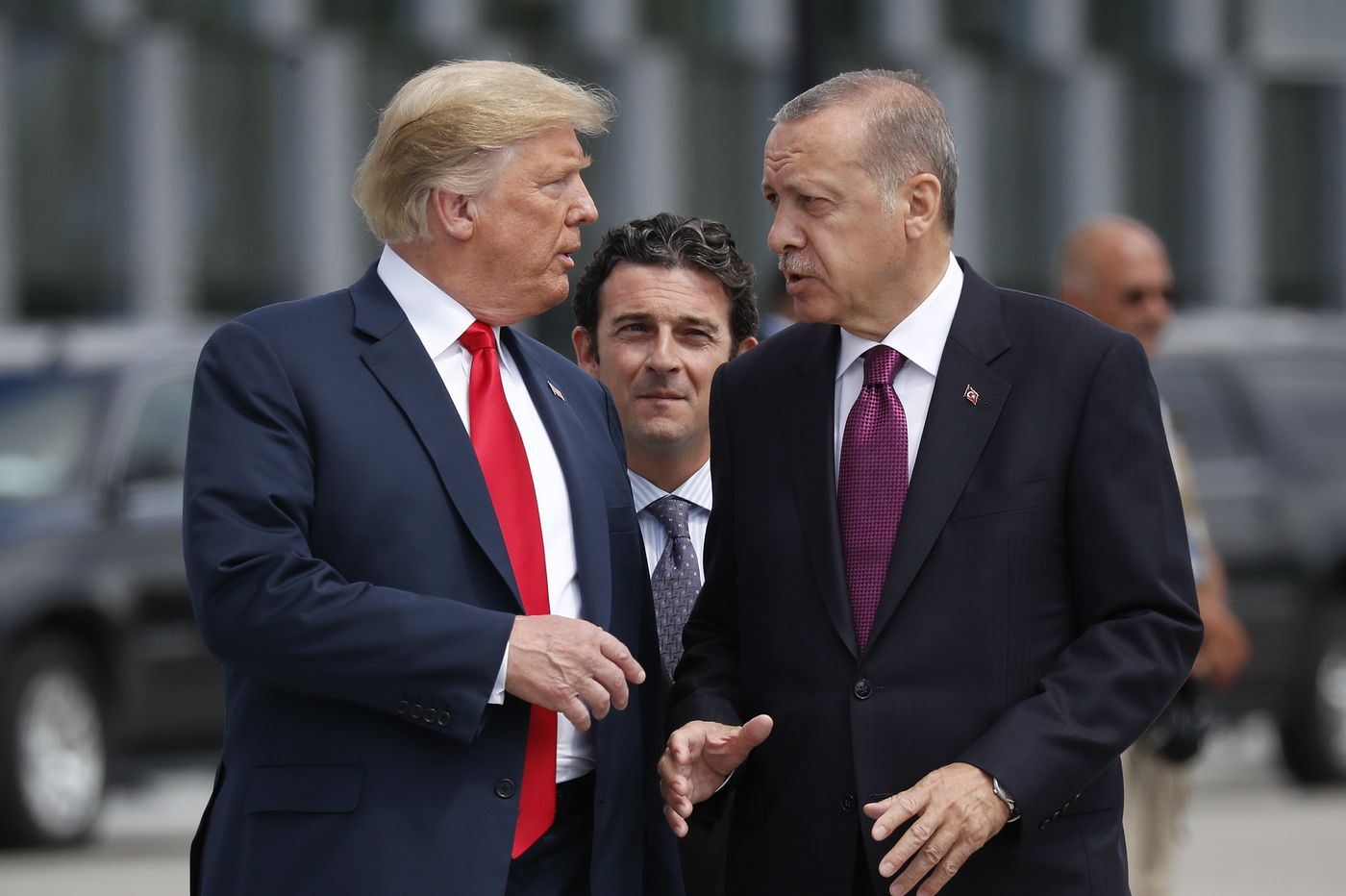 Turkey begins offensive in Syria after U.S. stands aside