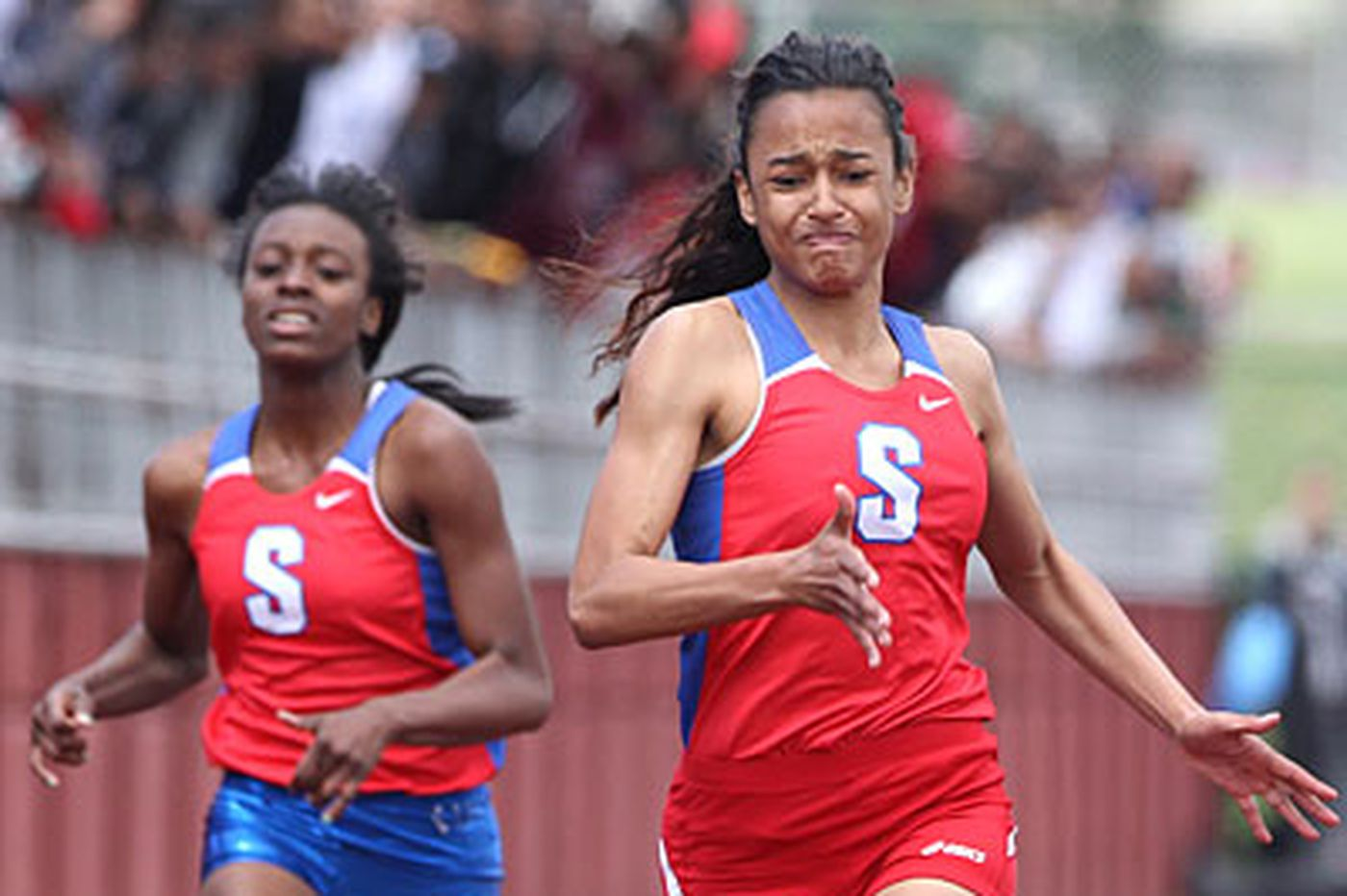Swenson sweeps titles in Public League track