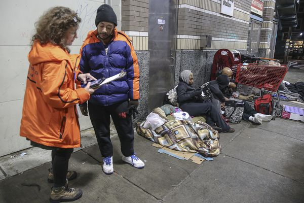 Philadelphia's annual homeless count reveals new realities about the opioid crisis