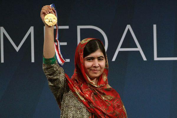 Malala Yousafzai awarded Liberty Medal