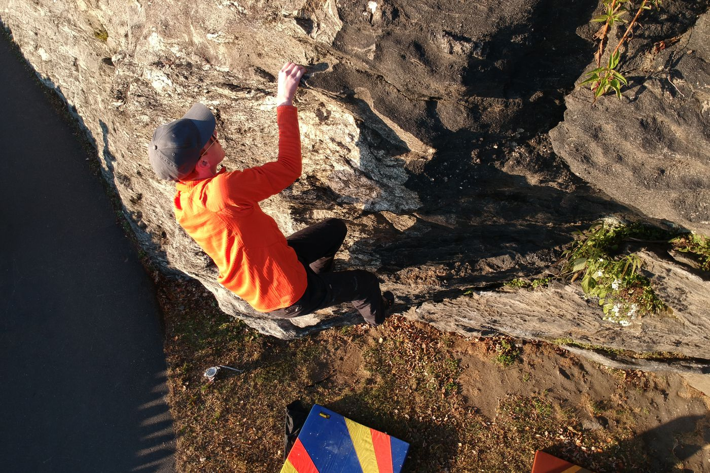 Video: Rock climbing in the Wissahickon