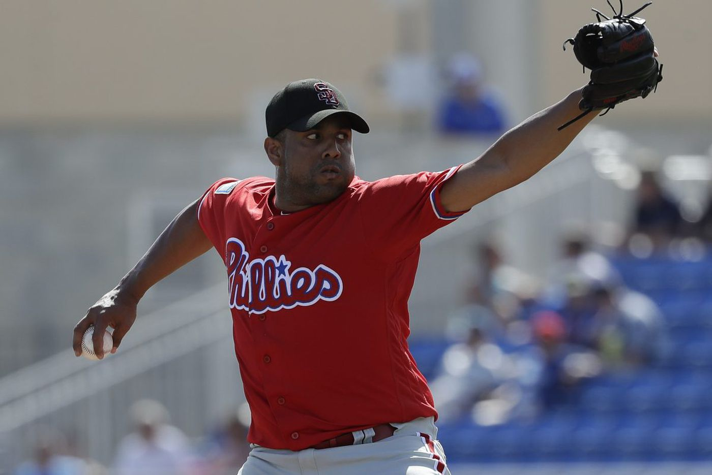 Phillies pitcher Francisco Rodriguez still has the desire to return to the once-great K-Rod form