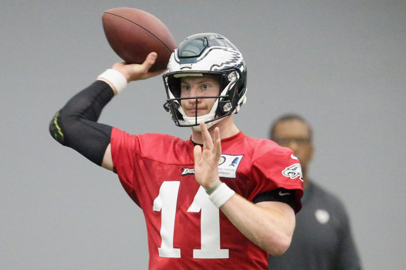 Eagles Practice Observations Carson Wentz Is Back Sort Of The First Depth Chart Jay Ajayi Shines
