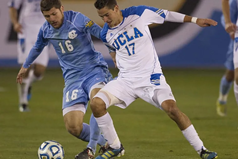 The Union nabbed UCLA forward Chandler Hoffman with the 13th overall pick in the MLS SuperDraft. (Dave Martin/AP)