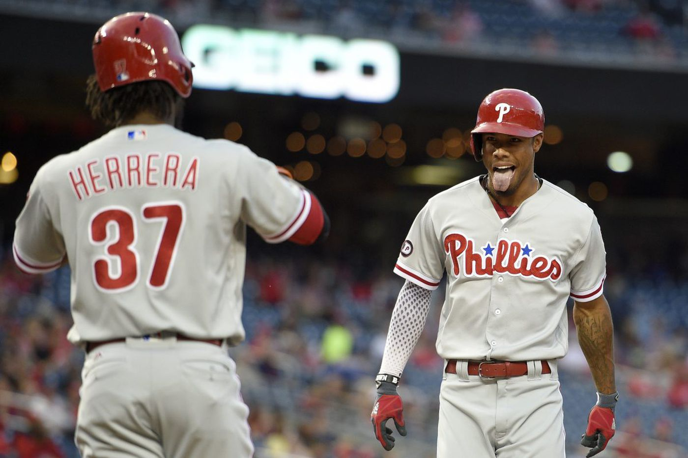 Nick Williams continues to pass tests as Phillies rookie