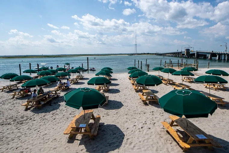 Dining with ocean or bay views is an easy task at many restaurants throughout the South Jersey Shore towns.