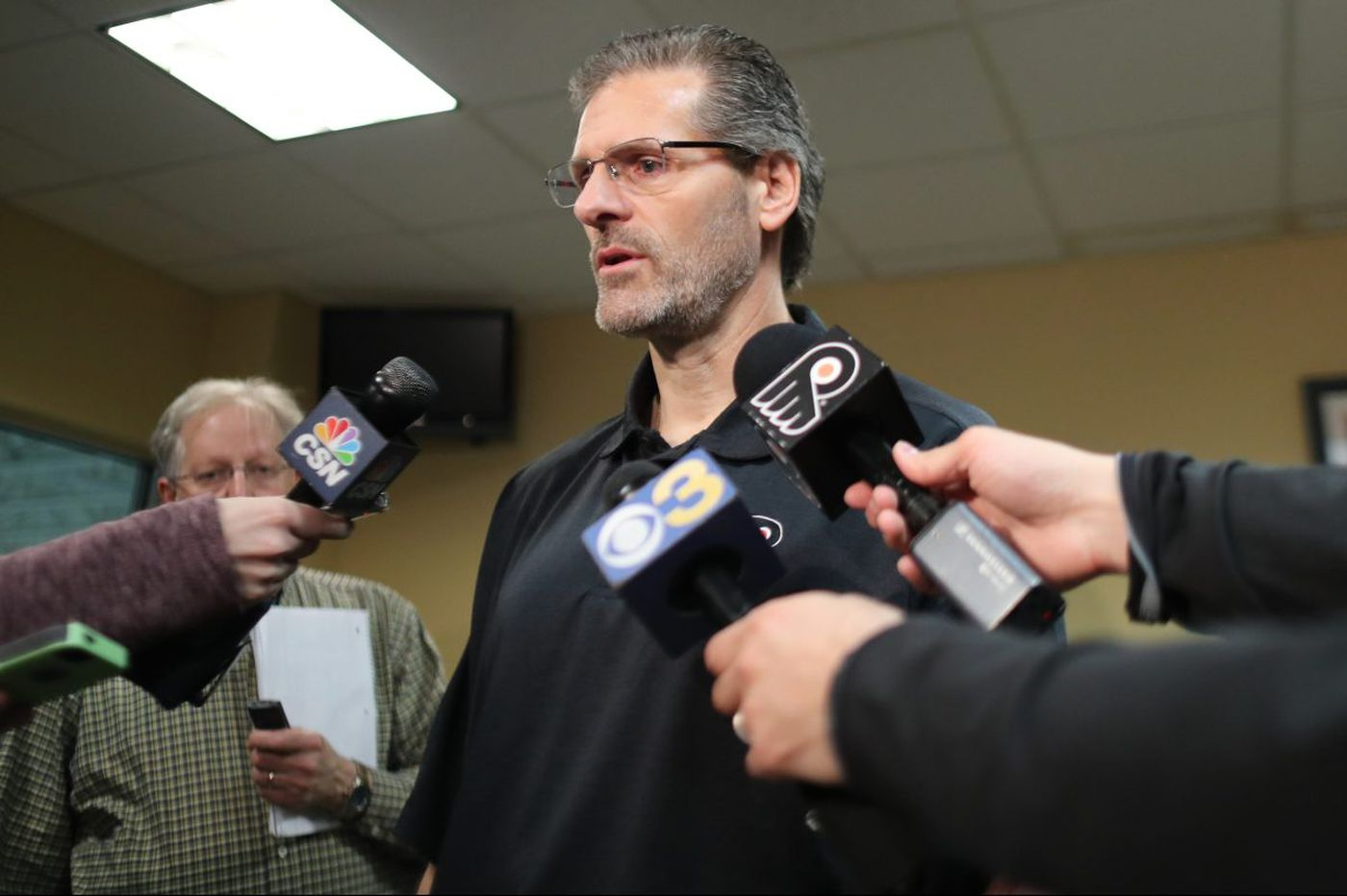 Ron Hextall has the cap space, now he needs offseason moves to deliver Flyers to Stanley Cup contention   Sam Carchidi