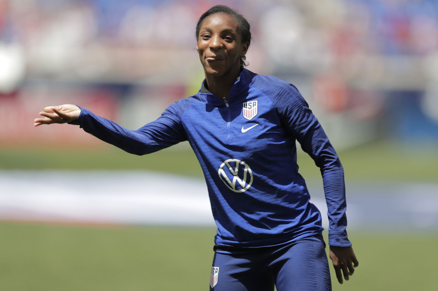USWNT's versatile Crystal Dunn readies for first World Cup after being last cut in 2015