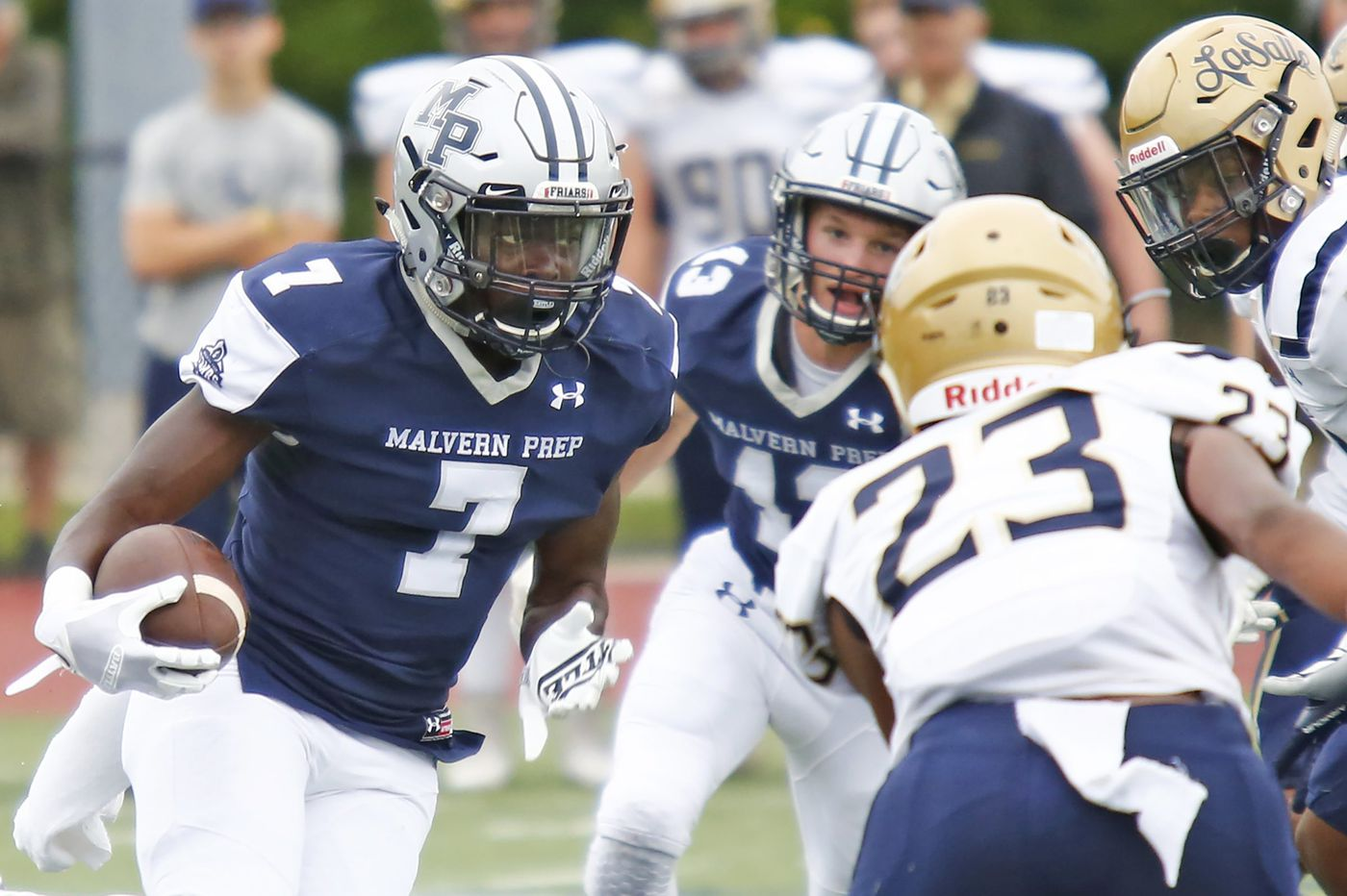 TyGee Leach and Malvern Prep stay perfect, keep La Salle winless
