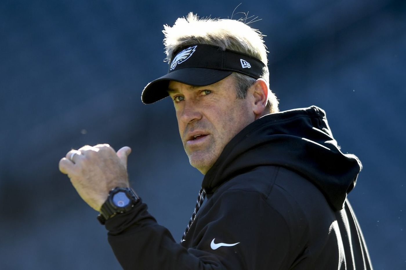 Live video: Eagles coach Doug Pederson's day-after press conference