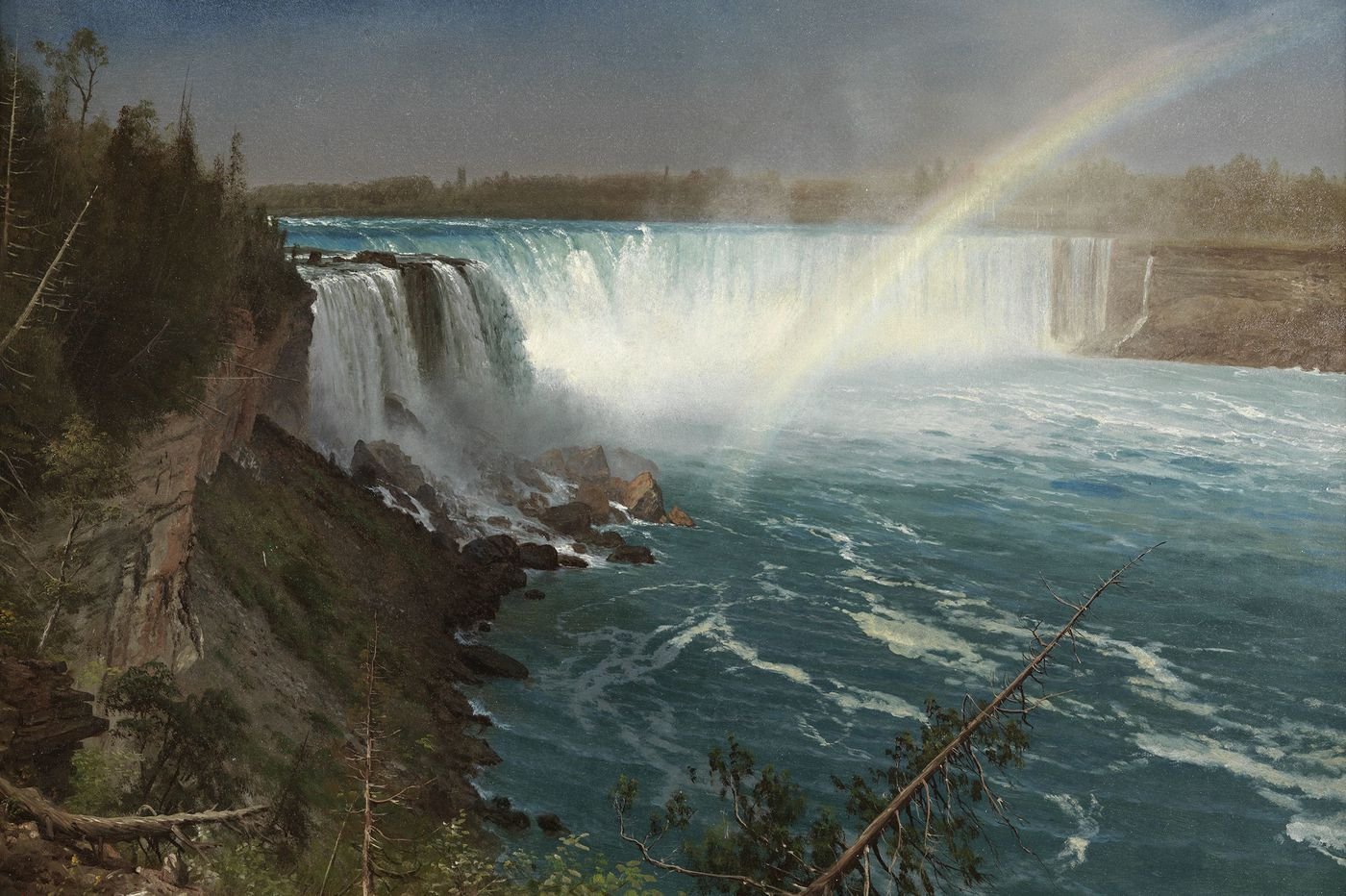 PAFA show dares to ask: What do Hudson River School paintings owe to our Schuylkill River School painters?
