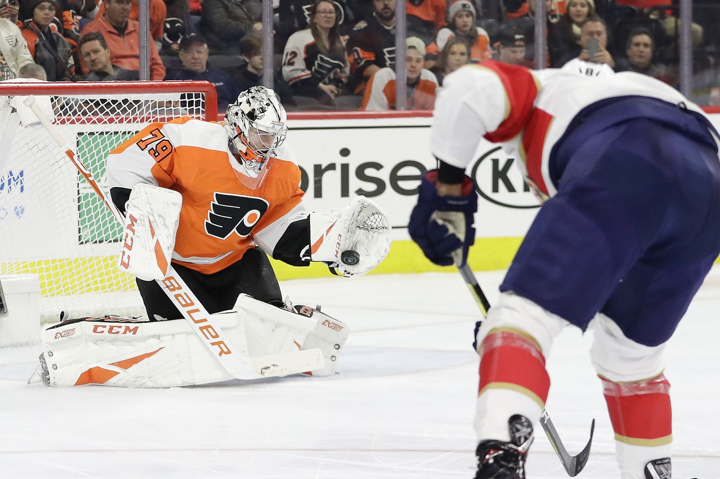 At 22, the Flyers' Carter Hart is primed to become one of the NHL's elite goaltenders