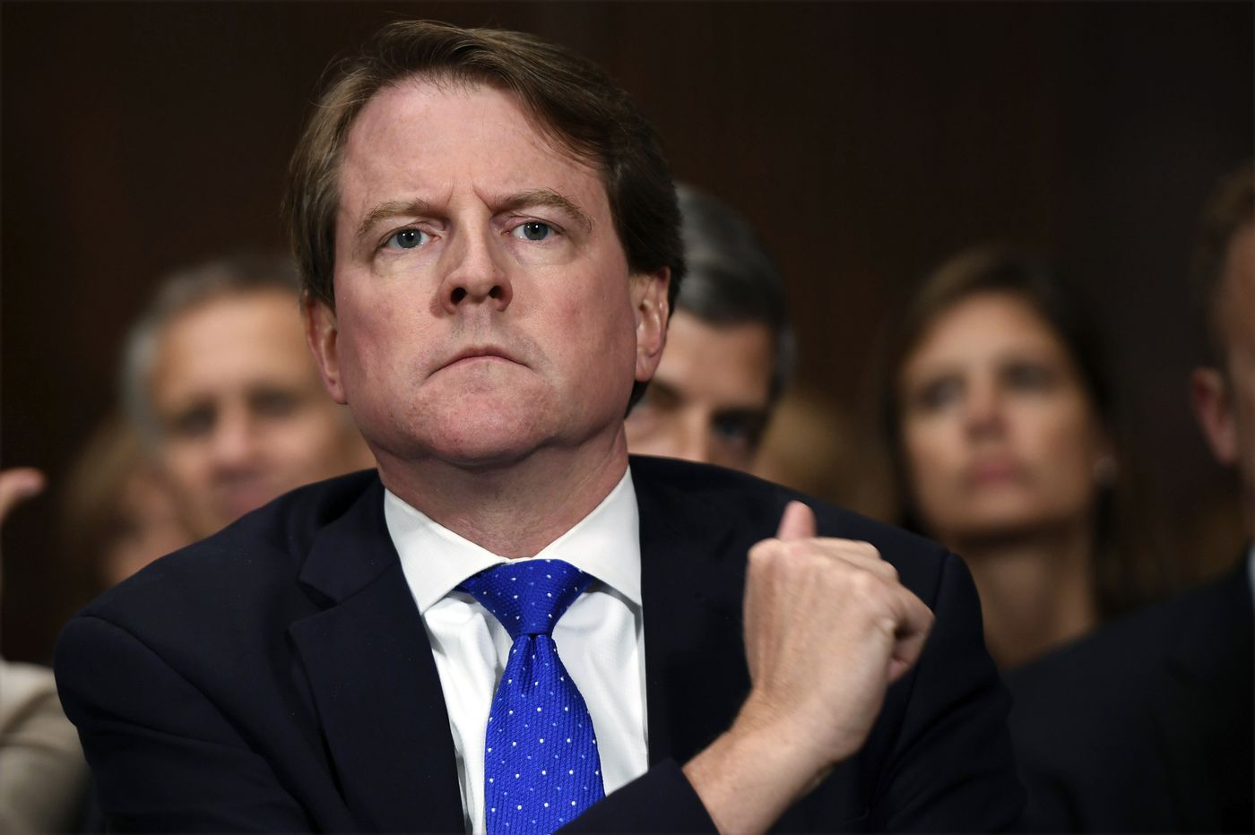 Democrats subpoena former White House lawyer McGahn