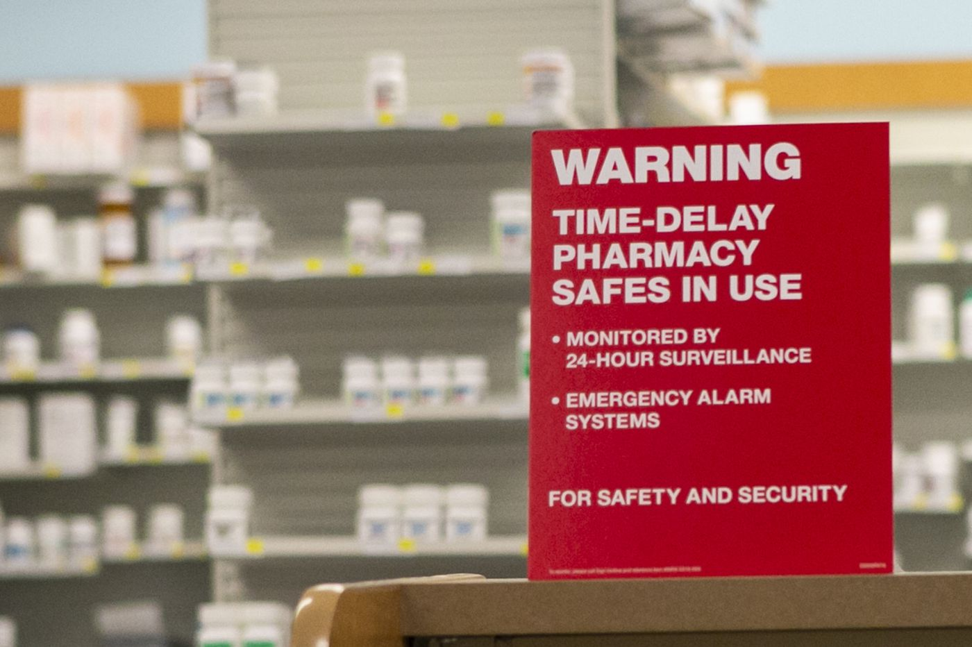 CVS adds time-delay safes in Pa. stores to help prevent opioid robberies