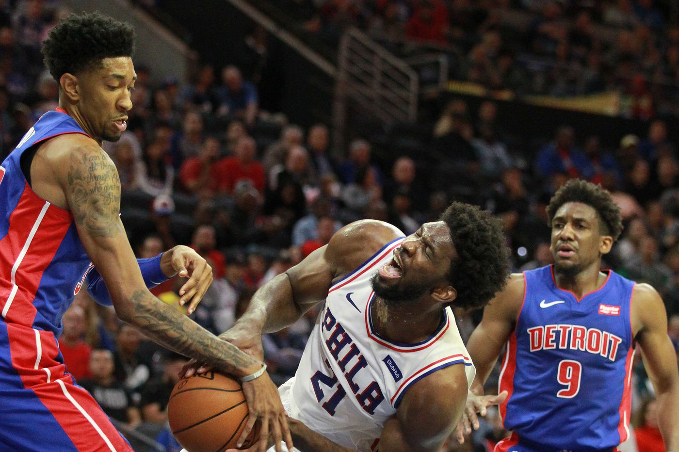 Instant Analysis: Is the best of Joel Embiid yet to come? That, plus three other takeaways from Sixers-Pistons