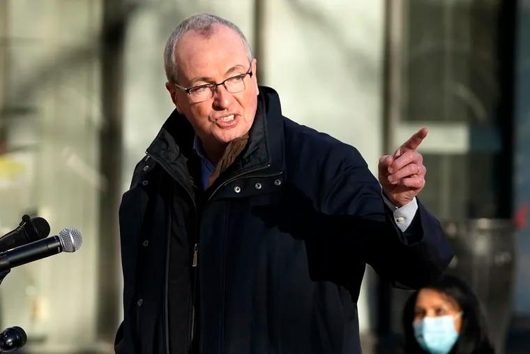 New Jersey Gov. Phil Murphy, shown in December.