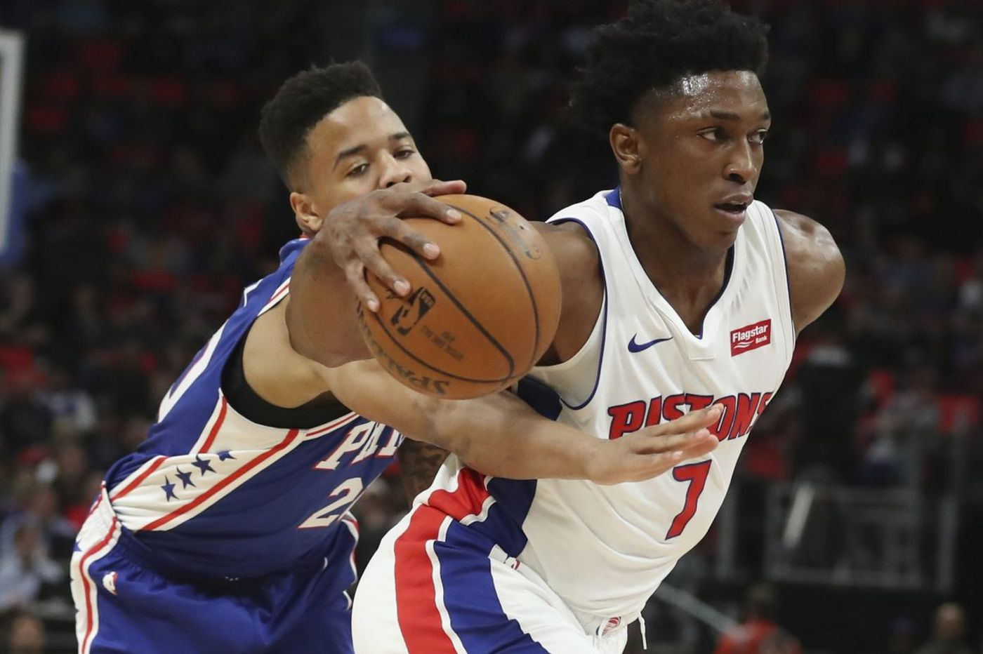 Sixers 115, Pistons 108: JJ Redick shoots the lights out and other quick observations