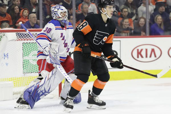 Morgan Frost: Confidence restored, promising center tries to work his way back to Flyers