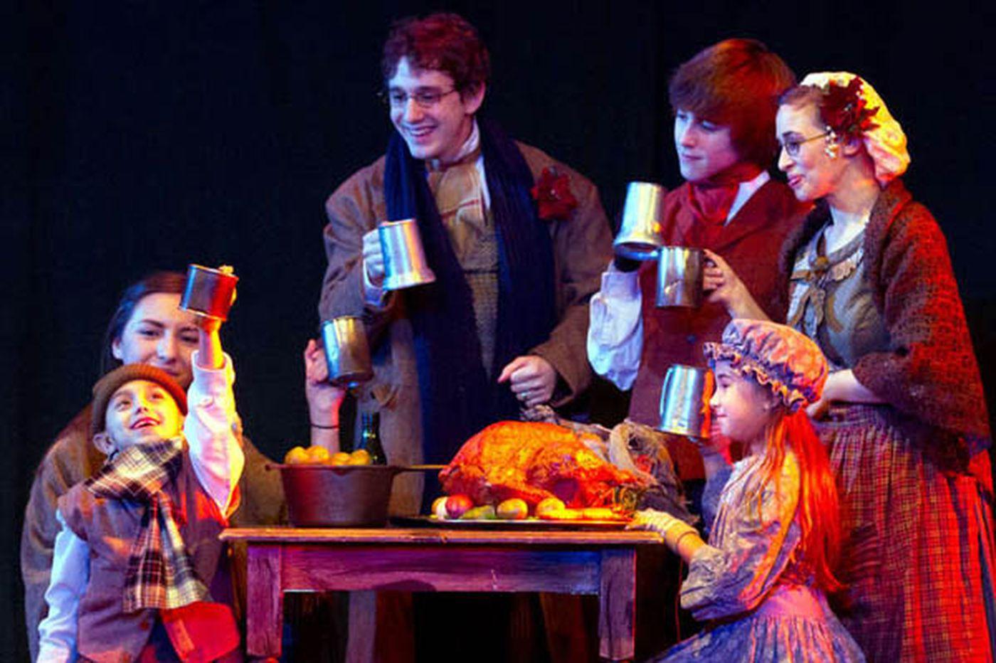 `A Christmas Carol,' `The Nutcracker,' Handel's `Messiah,' and other holiday shows around the Philadelphia region