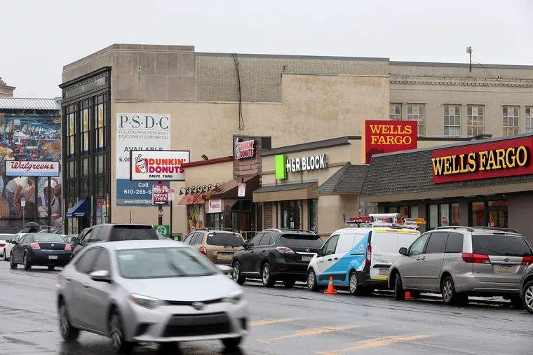 Among the sites highlighted as opportunity-zone development candidates is a two-acre assemblage of retail buildings beside the Allegheny station on the SEPTA's Market-Frankford Line. Tenants include a Walgreens pharmacy and a Dunkin' Donuts.
