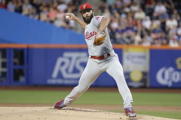 Fined by MLB, Jake Arrieta will start Sunday with bone spur in his elbow