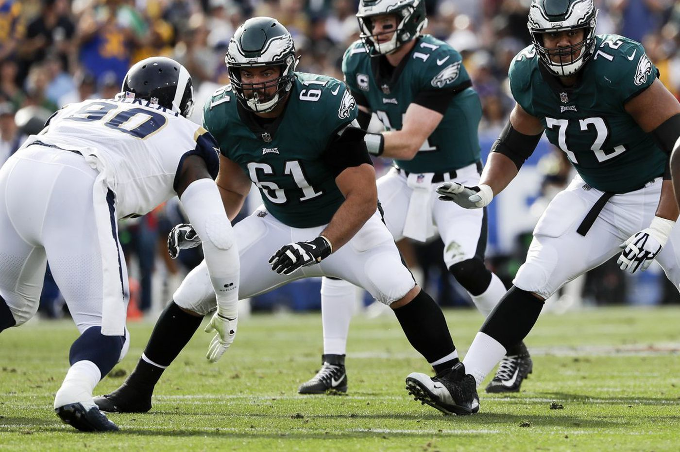 Stefen Wisniewski fits perfectly with Eagles, from the seen to the unseen | Mike Sielski