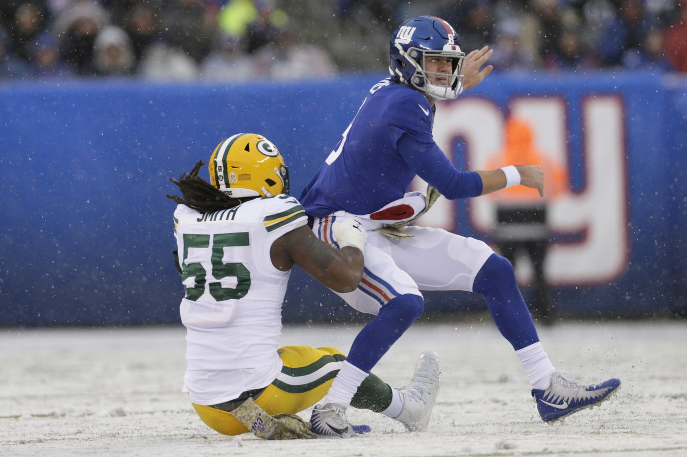 Eagles will likely face Eli Manning as Daniel Jones sits with ankle injury
