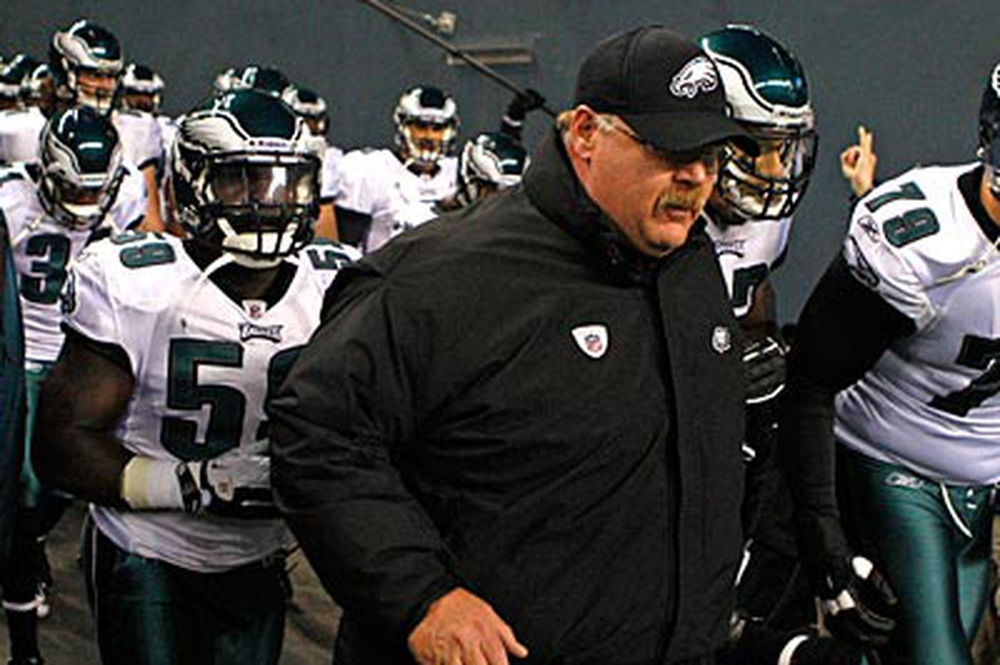 Don't blame youth for Eagles' flop