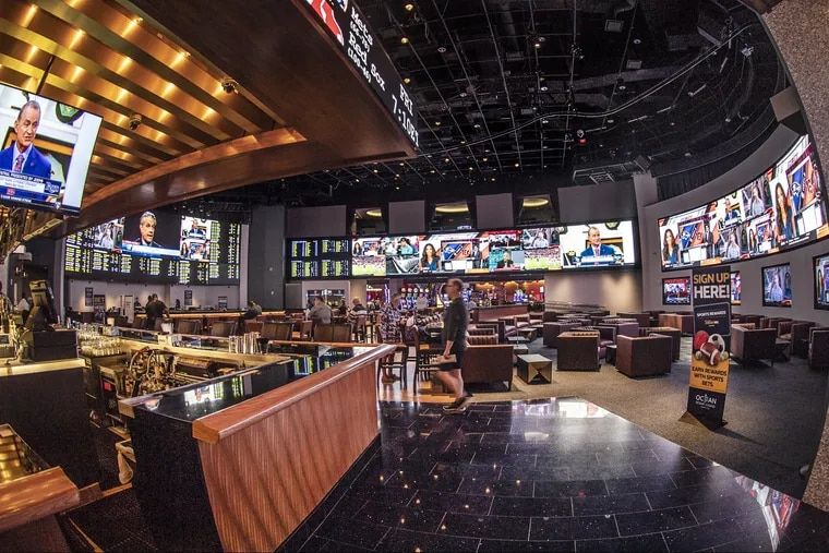 The sportsbook at Ocean Resort is the nicest in Atlantic City. But the new one built at Resorts Casino isn't shabby.