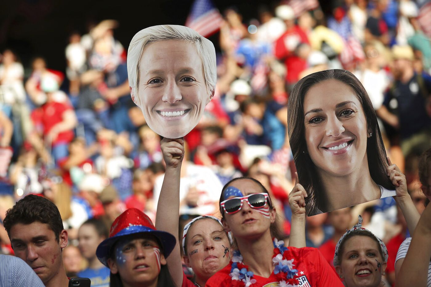 U.S. soccer fans vote with their wallets, backing women's stars at World Cup more than men at Gold Cup