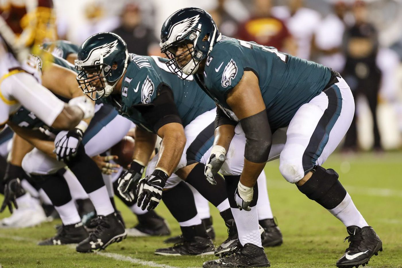 Doug Pederson confirms Lane Johnson to stay put; coach says it's his job to prevent letdown