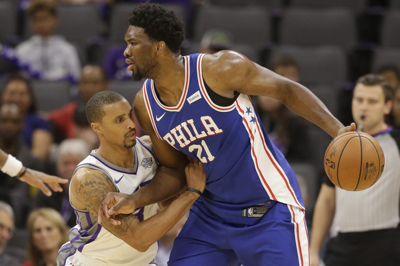 Sluggish Sixers fall to Kings as 5-game winning streak ends